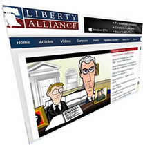 Insanity Island featured at Liberty Alliance