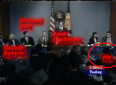 June 8, 2000 - Michael Dell at the National Press Club