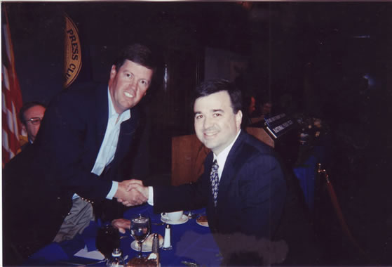 Scott McNealy, Steve O'Hearn, at the National Press Club