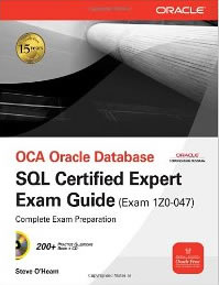 SQL Expert Book from Oracle Press - Cover
