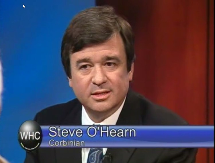 Steve O'Hearn on the White House Chronicle TV show